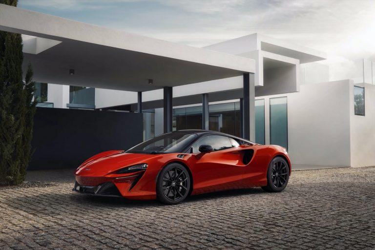 McLaren Artura ist überraschend niedrig
